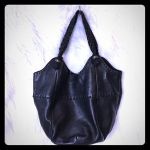 The Sak black leather hobo purse NWOT